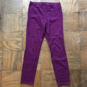 Uniqlo leggings pants in purple